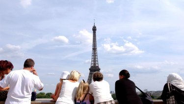 Tourism numbers in Paris have slumped after a wave of terror.