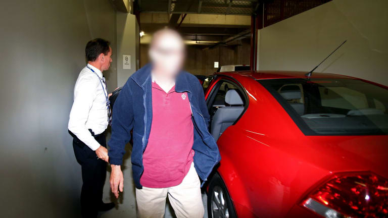 The former Commonwealth Bank IT executive is arrested on Tuesday.