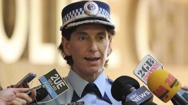 NSW Police Deputy Commissioner Catherine Burn addresses the media on Monday.