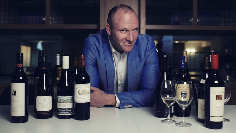 What's your tipple? Langton's wine broker Pierre Durand has connections to hundreds of vineyards.