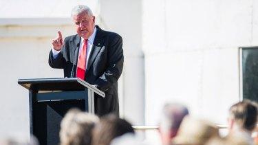 """The team is average"": Australia's chief scientist, Professor Ian Chubb."