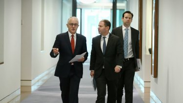 Measures announced by Mr Turnbull include already flagged restrictions on gas exports.