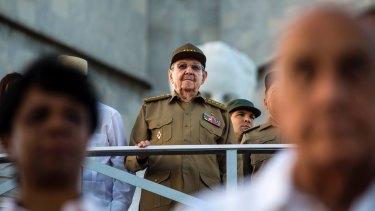 Cuba's President Raul Castro.