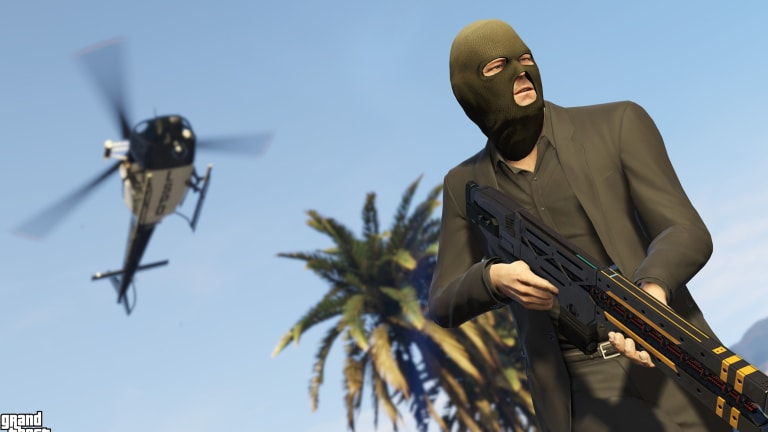 Grand Theft Auto Five is one of many top-end games available on Steam.