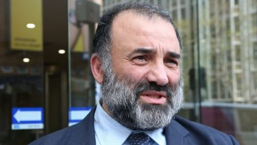 Court victory: Keysar Trad has been reinstalled as president of Australian Federation of Islamic Councils by a court ruling.
