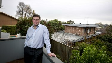 MP Tim Smith at home in Kew.