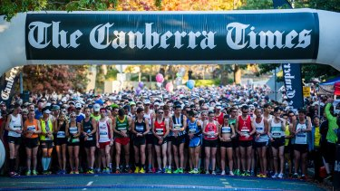 Canberra Marathon.