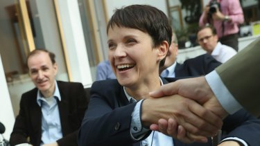 Frauke Petry, co-head of the Germany's AfD.