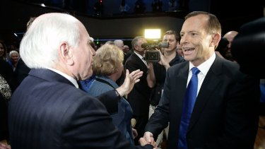 Tony Abbott has been haunted by WorkChoices, the policy of former prime minister John Howard.