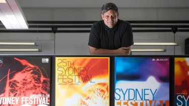 Artistic director of the Sydney Festival, Wesley Enoch.