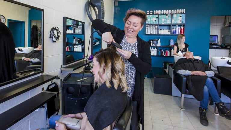 Candra Hooper Whitmore Styling Jasmine Critchlow S Hair At The Cutting Room In Riverstone