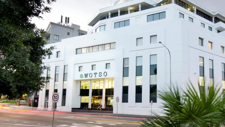 The WOTSO co-working hub at Pyrmont is now owned fully by BlackWall Fund.