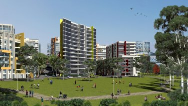 The new vision for the area surrounding Macquarie University includes building up to 5800 homes.