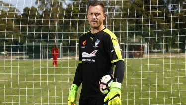 Bound for Europe: Danny Vukovic is set to join Belgian club, Genk.