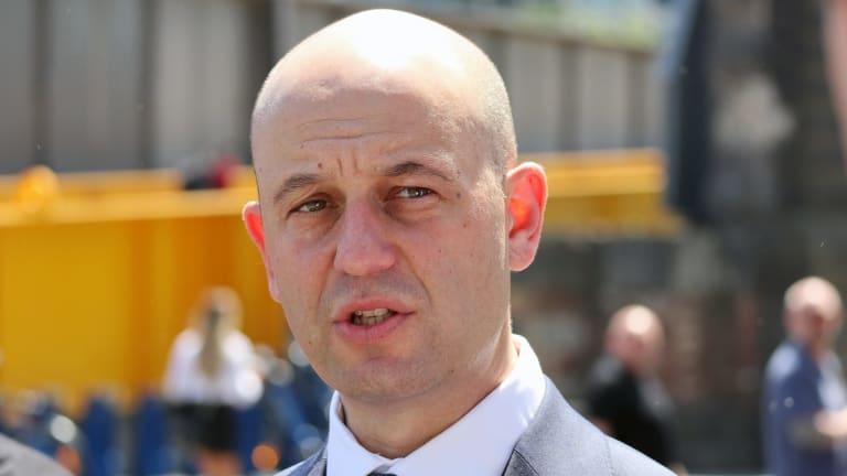 Barrage of criticism: NRL boss Todd Greenberg.