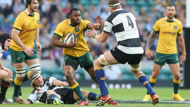 Man of the match: Tevita Kuridrani.