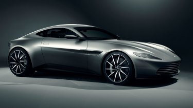 The new Aston Martin DB10 will feature in <i>Spectre</i>, the next James Bond film.