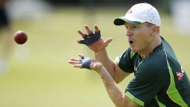 Failed enterprise: Australia's Chris Rogers resumes focus.