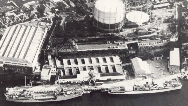 The site was taken over by the federal government in 1942 and became a torpedo manufacturing and maintenance factory as well as a service facility for submarines.