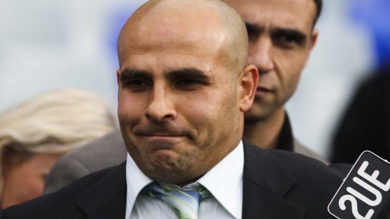 Charged: Bulldogs legend and highest point scorer Hazem El Masri.