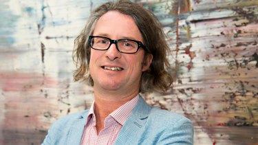 Max Delany, head of the Australian Centre for Contemporary Art.