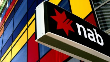 NAB's third-quarter profits rose 9 per cent compared with a year earlier.