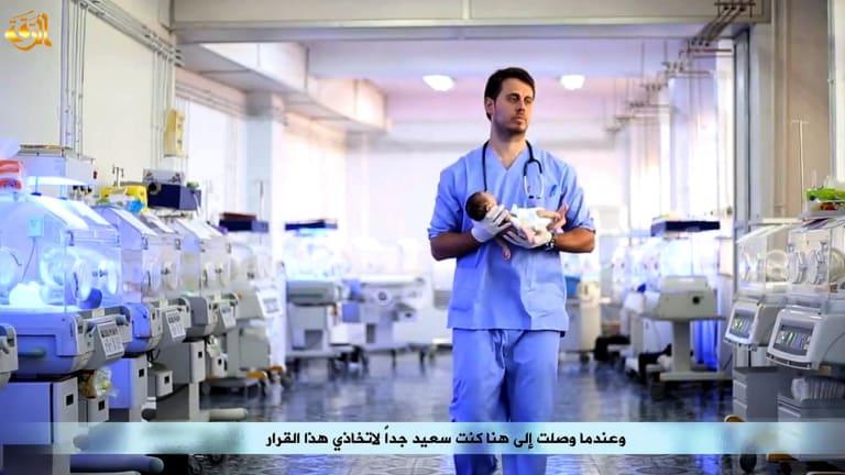 Australian doctor Tareq Kamleh is the man in the Islamic State propaganda video.