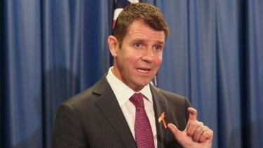 Council mergers announced: Premier Mike Baird.