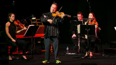 Bad boy Nigel Kennedy injects new life into the Four Seasons.