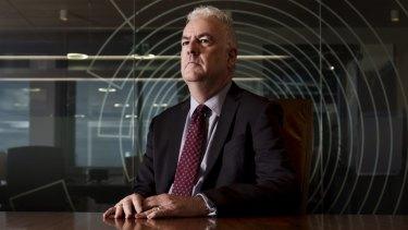 Transfield chief executive Graeme Hunt.