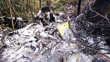 The Fairchild Metroliner plane came down near the Lockhart river on Cape York Peninsula in Queensland.