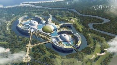 Aquis, the proposed mega casino for Cairns.