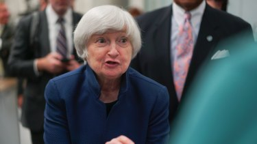 """Federal Reserve chair Janet Yellen said her """"best guess"""" was prices would accelerate soon."""