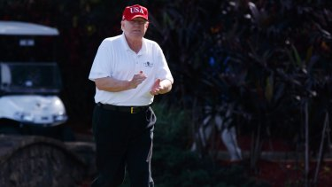 Verified claim: Donald Trump's hole-in-one was seen by plenty of witnesses.