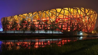 The massive Beijing National Stadium, also known as the Bird's Nest, will host World's grand final this year.