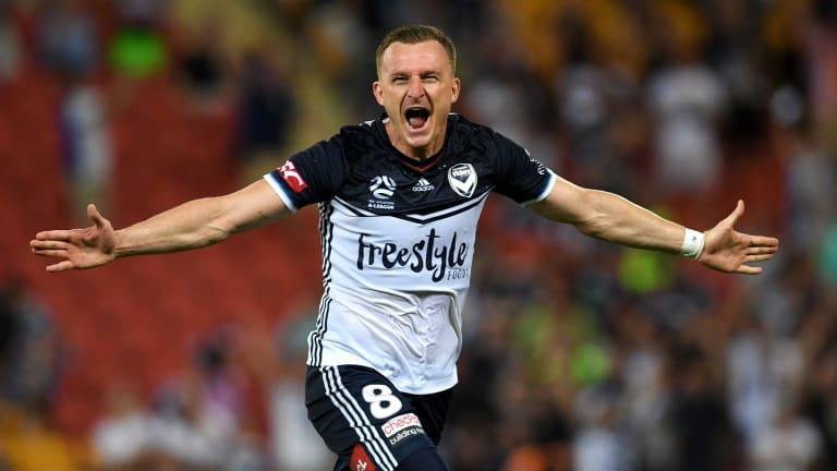 Australian citizenship is imminent for Melbourne Victory's Besart Berisha.
