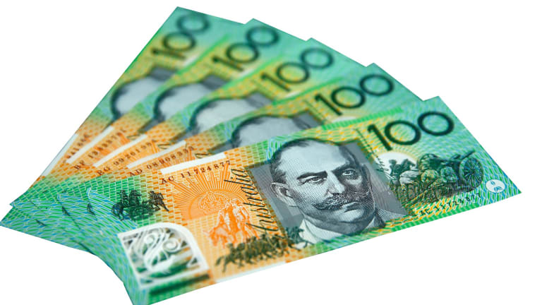 Rarely sighted by most: Australian $100 banknotes.