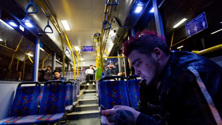 There'll be no night bus on New Year's Eve.