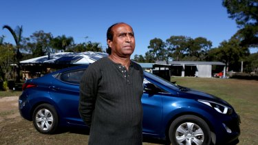 Mohammad Qureshi was sacked by Uber when his passenger rating fell.