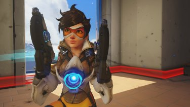 Tracer was one of the stars of the show in a great afternoon of e-sports action.