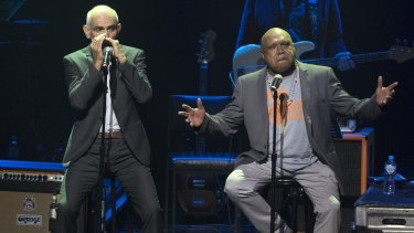 Archie Roach sang Took the Children Away with his mate Paul Kelly on harmonica.