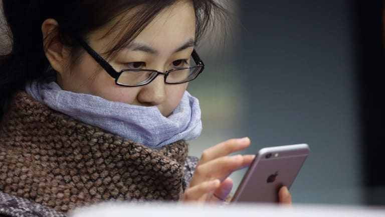 Apple CEO Tim Cook is banking on sales of iPhones in China to help make up for slowing growth in other regions.