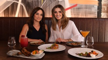 Nicole da Silva (left) tells Kate Waterhouse her dream role would be to do an action trilogy.