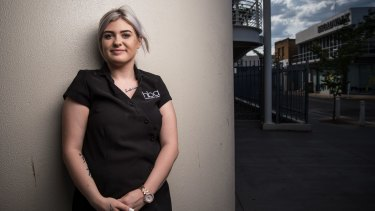 Gabriella Cicino, 19, is currently doing a Certificate III in beauty and has been looking for work since leaving school after year 10.