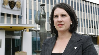 The Liberals' Giulia Jones: Mrs Jones told the Assembly marriage was about making men 'grow up'.