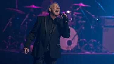 John Farnham brought the crowd to their feet as he was inducted into The Age Music Hall of Fame.