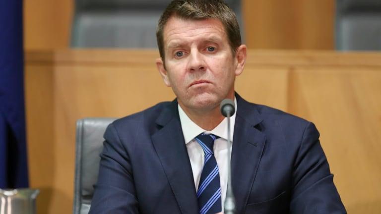 Premier's delegates under fire: Mike Baird.