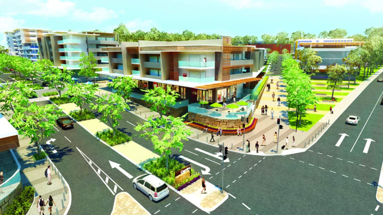Carseldine's new housing village - artists impression released on Sunday.