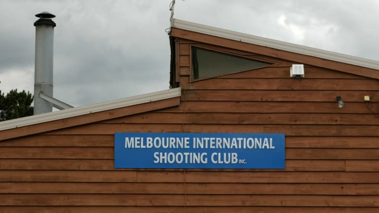 The shooting range at the Port Melbourne club was closed on November 8 for safety reasons.