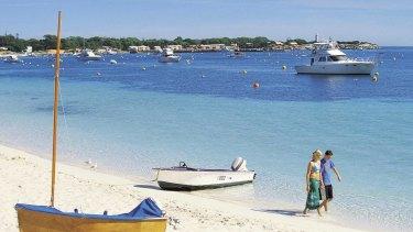 Rottnest Island looks set to reach a 30 degree max.